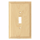 Contemporary Style Single Light Switch Cover