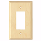 Contemporary Style Single Toggle Light Switch Cover