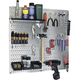Wall Control Steel Pegboard Organizer Storage Kit
