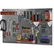 Wall Control 4' Steel Pegboard Standard Tool Storage Kit