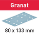 Festool Granat 80 x 133mm Abrasive Sanding Sheets