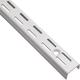 Epoxy Coated Twin-Track White Shelf Standards