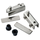 Glass Door Pivot Hinge for Free Swinging Glass Doors-Select finish