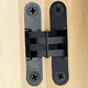 Concealed Soss Hinges-Black Finish