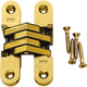 Concealed Soss Hinges-Satin Brass Finish