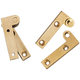 Solid Brass Precision Knife Hinges - L Style Hinges