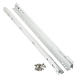 Blum® Low-Profile 3/4 Extension Epoxy Coated Drawer Slides - White