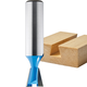 Rockler Dovetail Router Bits - 1/4