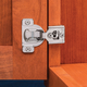 Blum® Nickel-Plated Face Frame Overlay Hinges