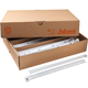 Bulk Pricing of Blum low-profile 3/4 extension drawer slides-White Slides
