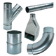 Spiral Pipe and Fittings for Dust Collection System