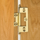 Deluxe No-Mortise Classic Brass Hinge Collection - Ball-Style Finial - 2-1/2