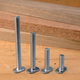 T-Slot Bolts, Pack of Five-5/16