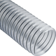 Clear Flexible Dust Collection Hose - 4'' Diameter