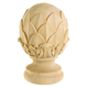 Bendix Artichoke Finials - Red Oak