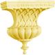Bendix Bell with Basketweave Corbels-Red Oak