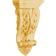 Bendix Shell and Acanthus Leaf Corbels with Scroll-Red Oak