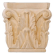 Bendix Hand Carved Corinthian Capitals - Basswood