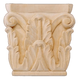 Bendix Hand Carved Corinthian Capitals - Red Oak
