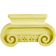 Bendix Hand Carved Ionic Capitals - Basswood