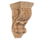 Bendix Hand Carved Grape Corbels - Cherry