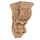 Bendix Hand Carved Grape Corbels - Red Oak