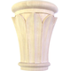 Bendix Hand Carved Papyrus Capitals-Basswood