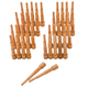 1x Miller Oak Dowels, 40 Pack