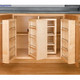 Swing Out Complete Pantry System, Rev-a-Shelf 4W Series-Door Mount Single Units