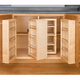 Swing Out Complete Pantry System, Rev-a-Shelf 4W Series-Swing Out Single Units