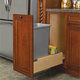 Single and Double Pullout Waste Containers, Rev-a-Shelf 4WCBM Series-Double Pullout Waste Containers