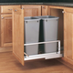 Double Aluminum Pullout Waste Containers, Rev-a-Shelf 5349 Series