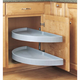 Half-Moon 2 Shelf Blind Corner Lazy Susans, Rev-a-Shelf 6842 Series-33