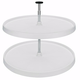 Rev-A-Shelf Full Circle Two Shelf Lazy Susan Set (3072 Series)-Almond Shelf Sets