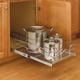Cabinet Pullout Single Tier Wire Baskets, Rev-a-Shelf 5WB Series-Single Tier 22