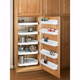Door Storage Shelf Sets, Rev-a-Shelf 6235 Series-19-3/4