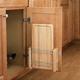 Door Mount Cutting Boards, Rev-a-Shelf 4DMCB Series-Cutting Board Storage w/Polymer Cutting Board