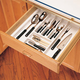 Kitchen Drawer Organizers, Rev-a-Shelf CT and GCT Series-Glossy White Finish