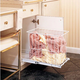 Pullout Hamper w/Wire Basket, Rev-a-Shelf HRV Series-Pullout Laundry Hamper: 19-3/8