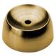 Adjustable Angle Ball Collar-Polished Brass