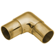 90 Degree Flush Elbow-Polished Brass