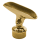 Adjustable Saddle-Brass Finish