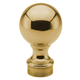 Ball Finial-Polished Brass