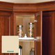 Rev-A-Shelf Value Line Full Circle Bottom Mount Lazy Susan Shelving (3071 Series)-Almond Shelves Only