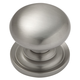 Satin Nickel Knob, 1-1/4''