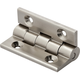 Vertex Solid Extruded 90° Stop Hinges-Satin Nickel Finish