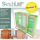 SketchList 3D Furniture Design Software, Version 3 (Windows Version)