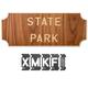 Rockler Interlock Signmaker's Templates - State Park Font Kits