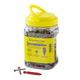 Recex® Recess Prelubed Screws-Flat