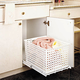 Pullout Hamper w/Polymer Basket, Rev-a-Shelf HURV Series